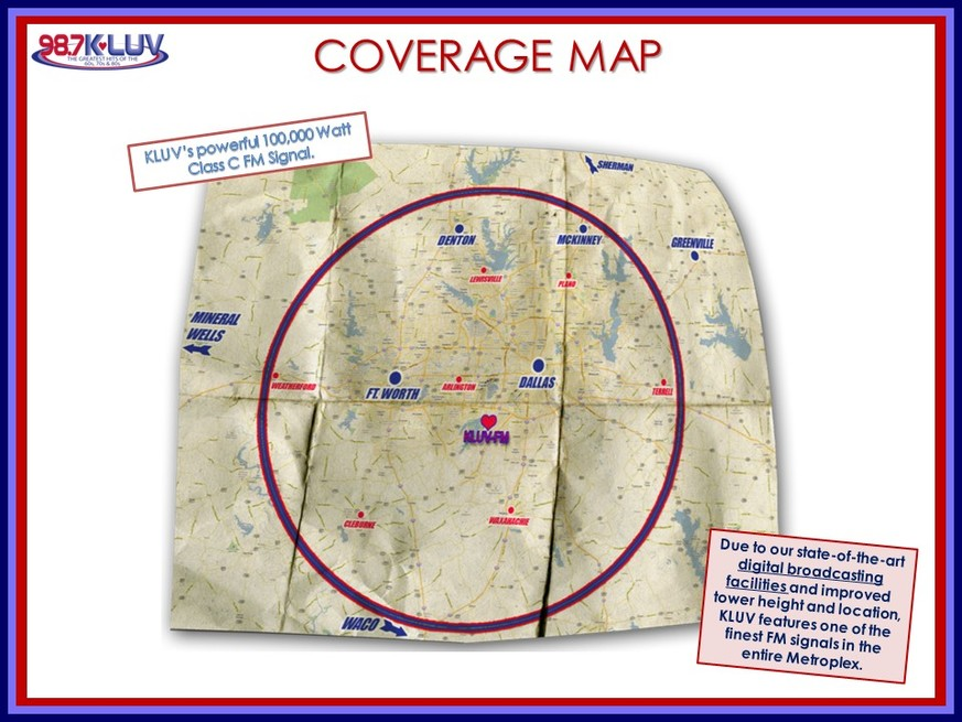 Coverage Map KLUV